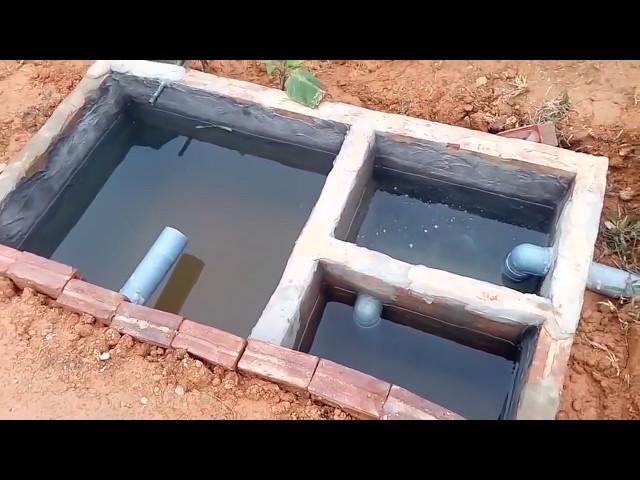 Cách xây bể tự hoại 3 ngăn tiết kiệm