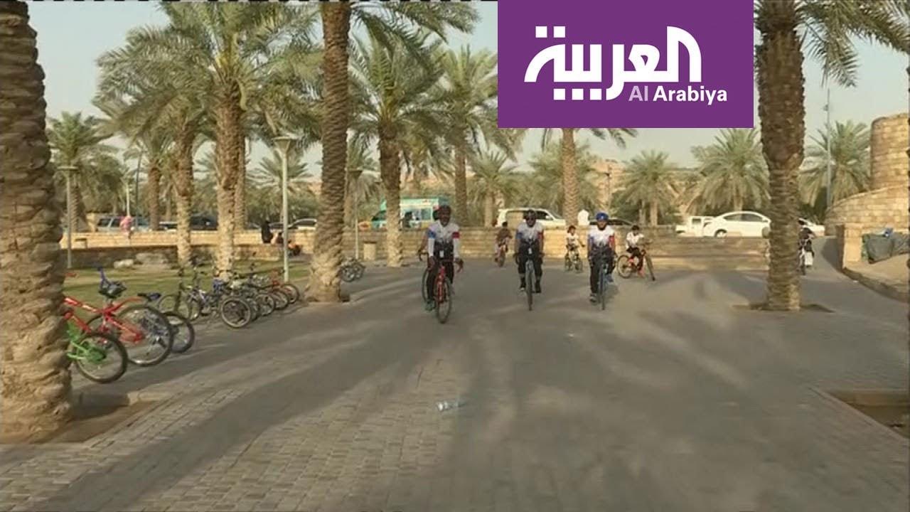 مراسل العربية من وادي حنيفة حول مشروع المسار الرياضي Youtube