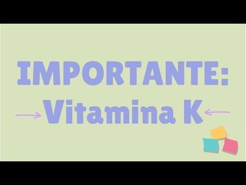 funcion de la vitamina k en recien nacidos