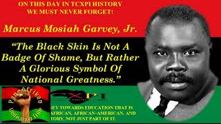 The Marcus Garvey Speech in New York 1921