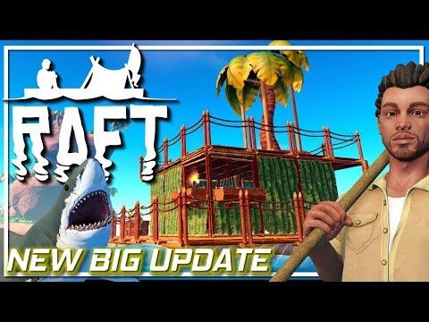 RAFT Survival Big New Update! | First Look | Raft Gameplay Let's Play EP1