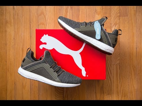 Puma has Boost?! || Puma Mega NRGY Knit Review and On Feet