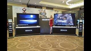 демонстрация преимуществ 4К-телевизоров Sony