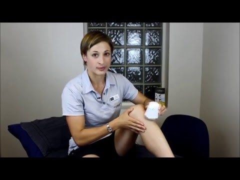 How to ice massage for knee tendonitis my Physio SA Adelaide Physiotherapist