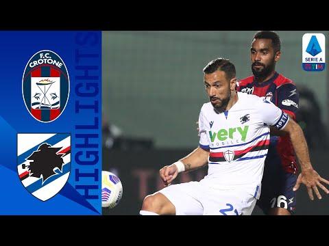 Crotone Sampdoria Goals And Highlights