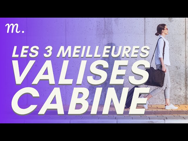 🥇TOP 3 VALISES CABINE (2021)