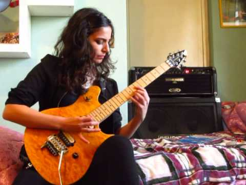 YYZ - RUSH - Guitar cover (with original solo) - Maria Barbieri