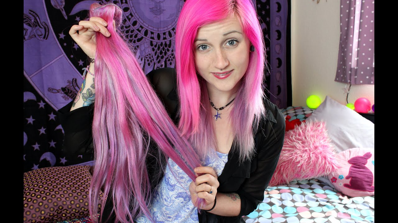 toning review vpfashion hair extensions going pink