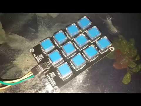 Cool analog 3X4 keypad review