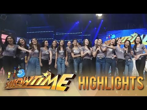 """It's Showtime: Bb. Pilipinas candidates dance to the """"Taga Saan Ka?"""" challenge"""