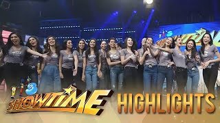 "Video It's Showtime: Bb. Pilipinas candidates dance to the ""Taga Saan Ka?"" challenge download MP3, 3GP, MP4, WEBM, AVI, FLV Juni 2018"