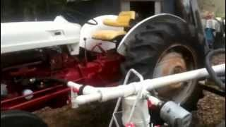 Fema Type Gasifier Running Ford Tractor