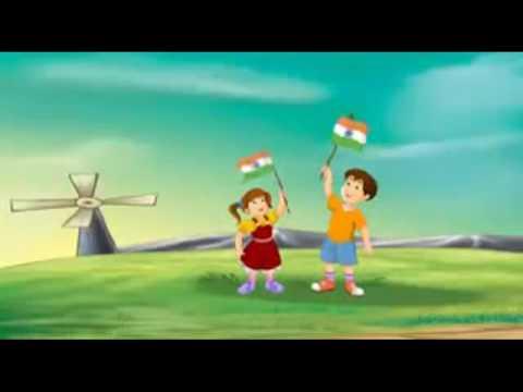independence day 15 august Vijayi vishwa tiranga pyara jhanda uncha rahe hamara