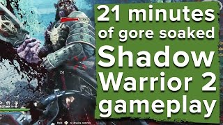 21 minutes of Shadow Warrior 2 gameplay - E3 2016