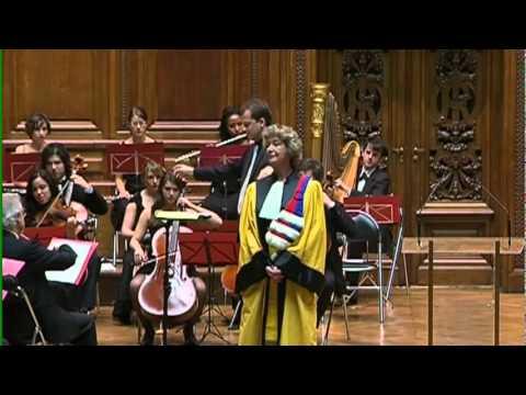 Lott - Cérémonie de docteur honoris causa - Sorbonne 2010
