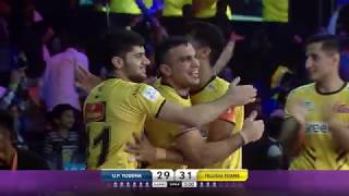 Pro Kabaddi 2018: Telugu Titans vs UP Yodha - Match Highlights [ENGLISH]