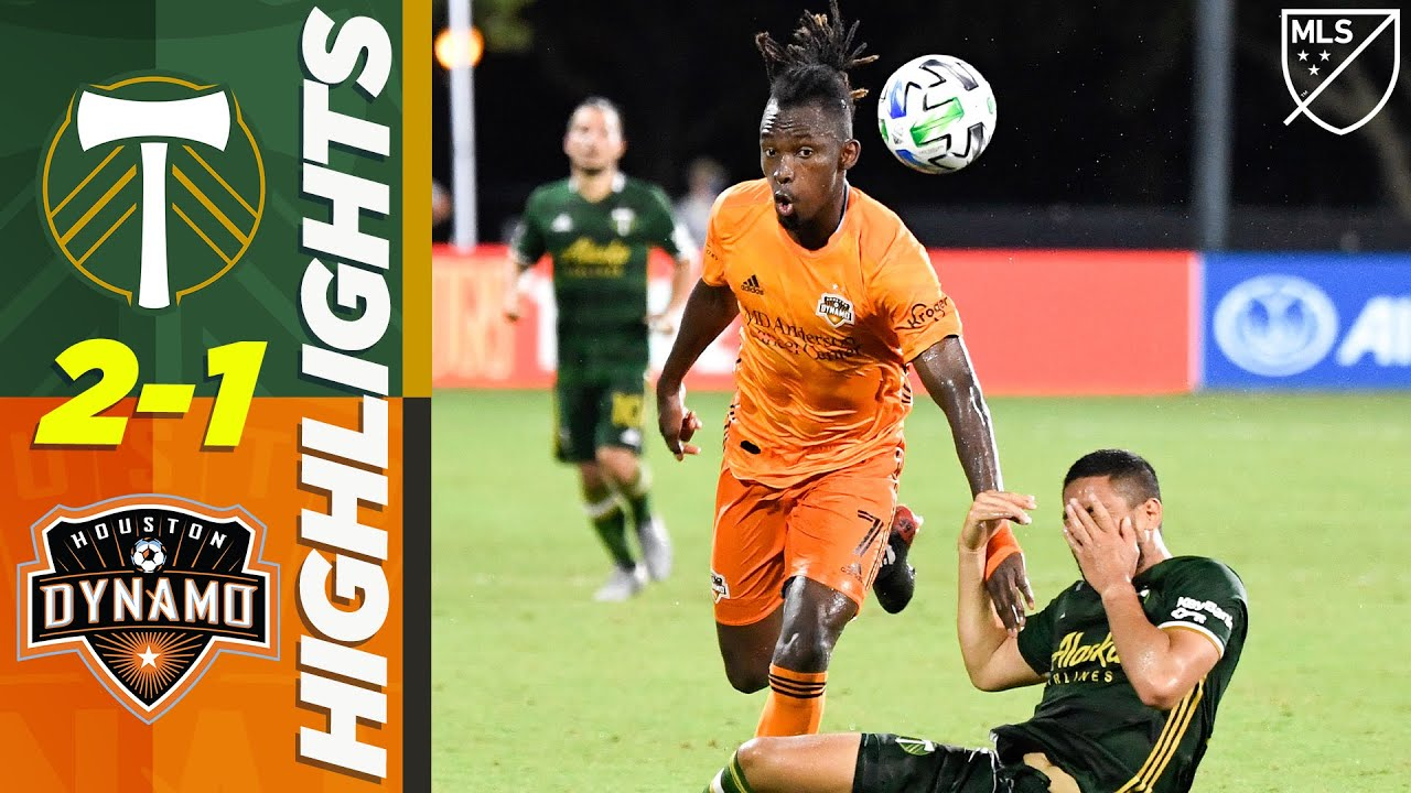Portland Timbers 2-1 Houston Dynamo | Late Penalty AND Red Card! | MLS HIGHLIGHTS