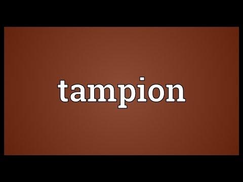 Header of tampion