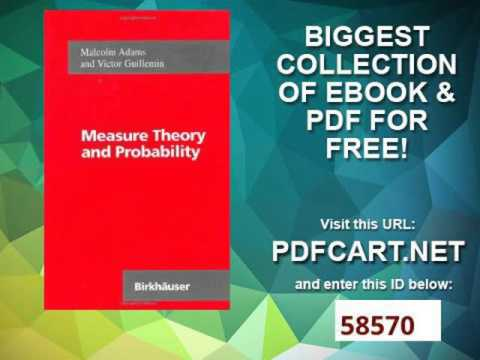 Measure Theory and Probability The Wadsworth & Brooks Cole Mathematics Series