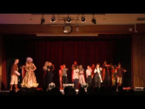 Harvey Grammar Pantomime 2015