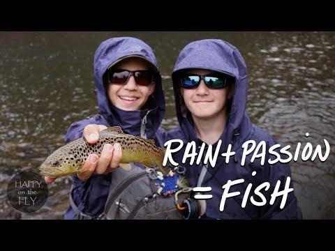 Fly Fishing Film | RAIN + PASSION = FISH | Huntingdon County, Pennsylvania