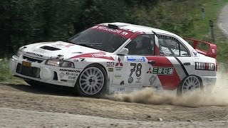 Mitsubishi Lancer Evo IV Rally Group A - Starts, Anti-Lag, Accelerations & More