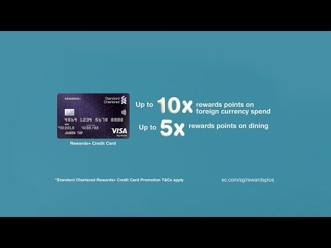 Upsize your life with the new Standard Chartered Rewards+ Credit Card