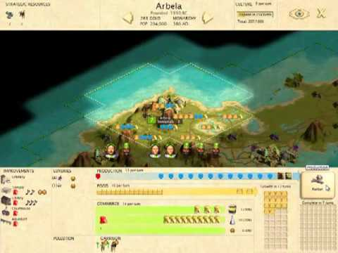 Civilization III: Play The World Let's Play! Part 1