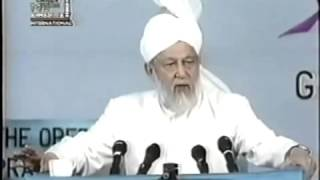Concluding Address Jalsa Salana, Sunday 28 July 1996.