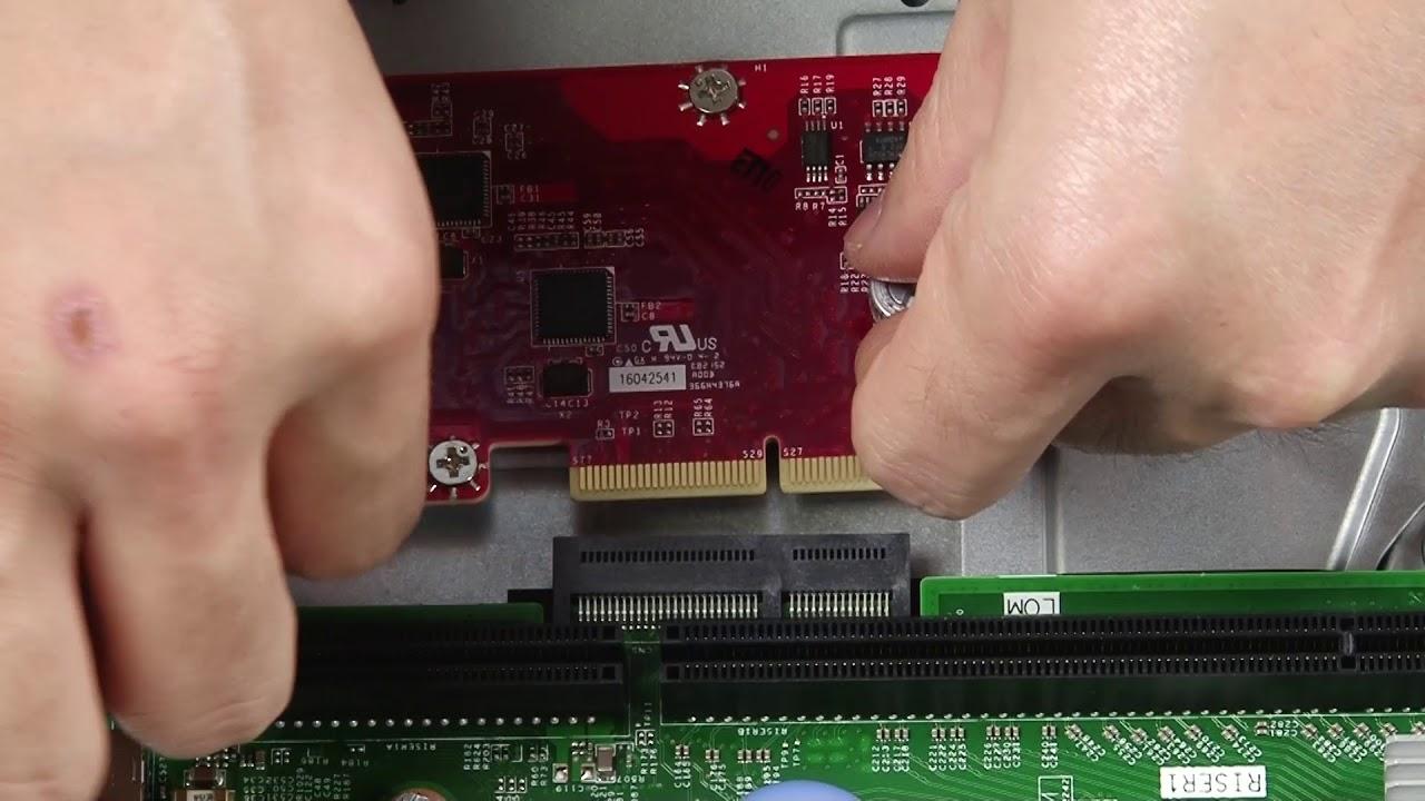 Lenovo ThinkSystem SR590 - LOM Adapter Installation