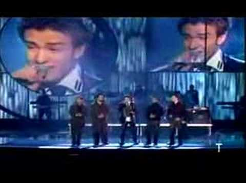 Son by four Nsync a puro dolor live