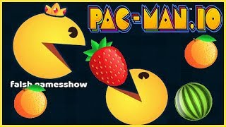 PAC-MAN.iO 3- Dominating Biggest Pac-Man EVER