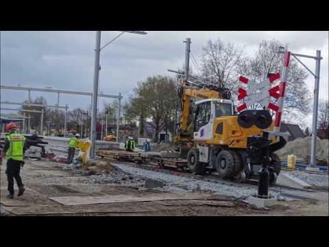 dag 10 spoorwerk Assen op 25-04-2017