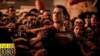 Супермен спасает людей.Бетмен против Супермена:На заре справедливости.2016