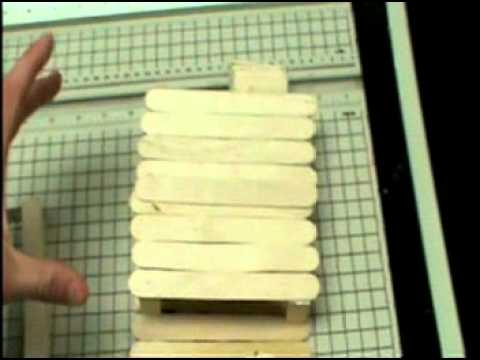 Guillotine out of popsicle sticks youtube What to make out of popsicle sticks