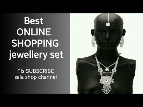 Exquisite Versatile Alloy Jewelry Sets// low price in sala shop