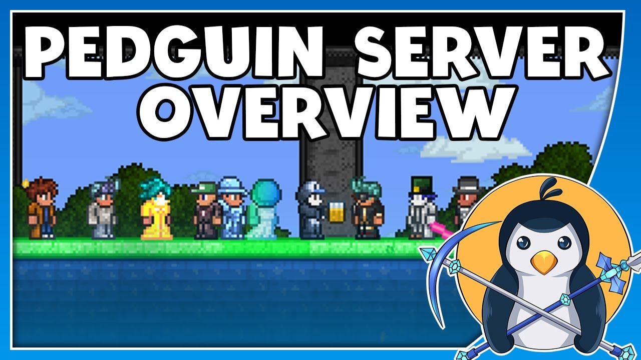 Pedguin's Minigame Server is creating a 24/7 Terraria server | Patreon