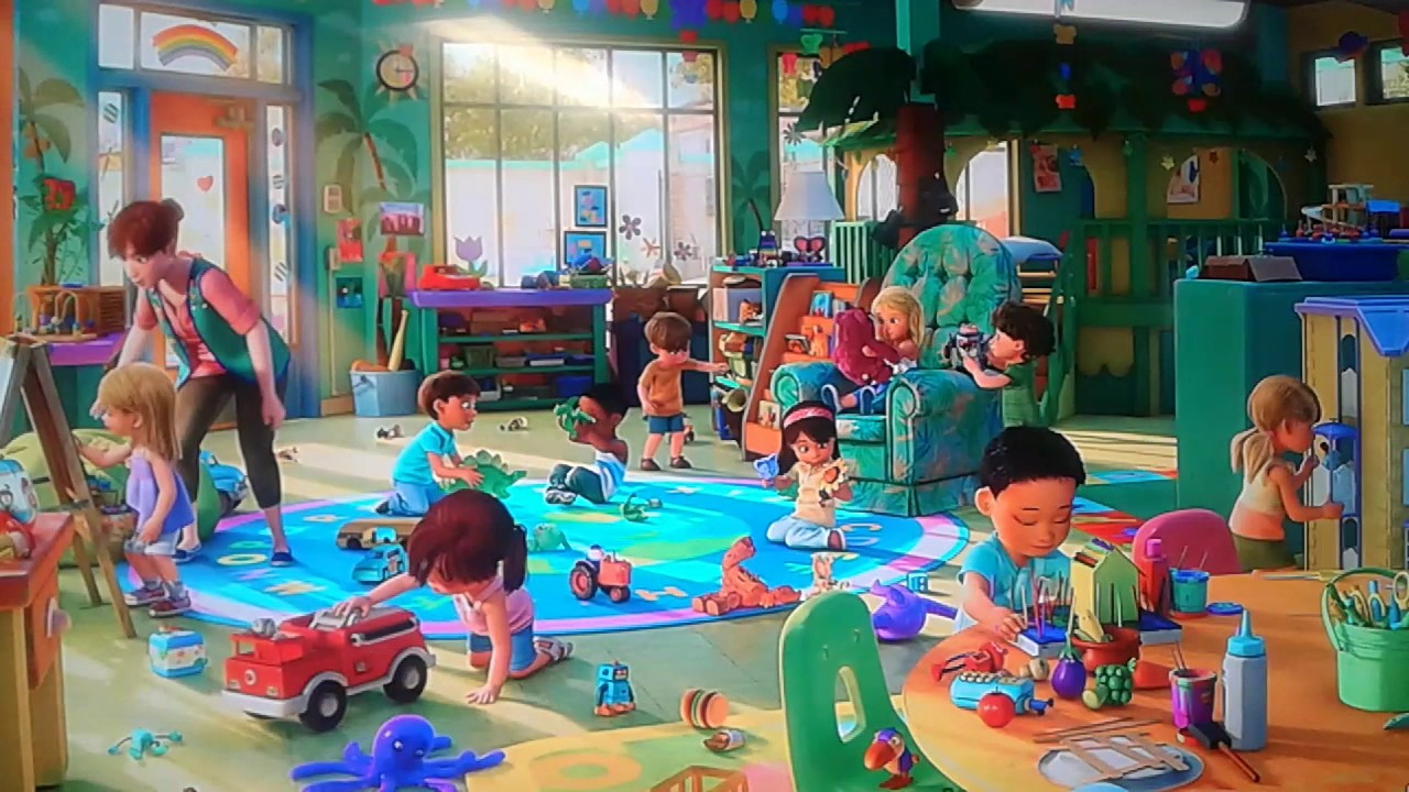Toy Story Day Care : Toy story kids at sunnyside scene youtube