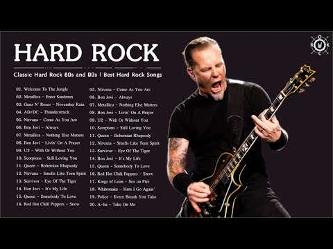 Classic Hard Rock 80s and 90s | Best Hard Rock Songs 80's 90's