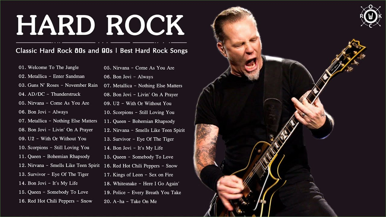 Download Classic Hard Rock 80s and 90s | Best Hard Rock Songs 80's 90's