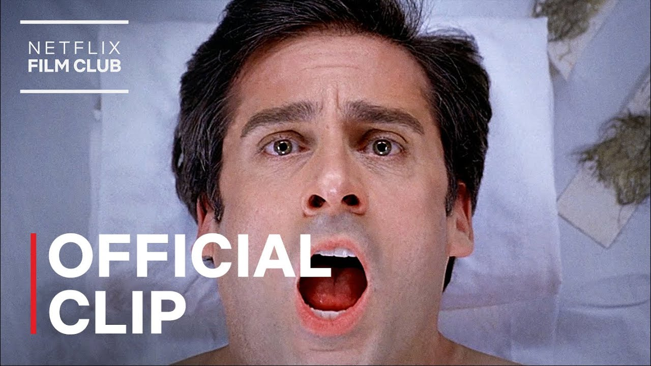 Download Steve Carell Gets Waxed   The 40-Year-Old Virgin   Netflix