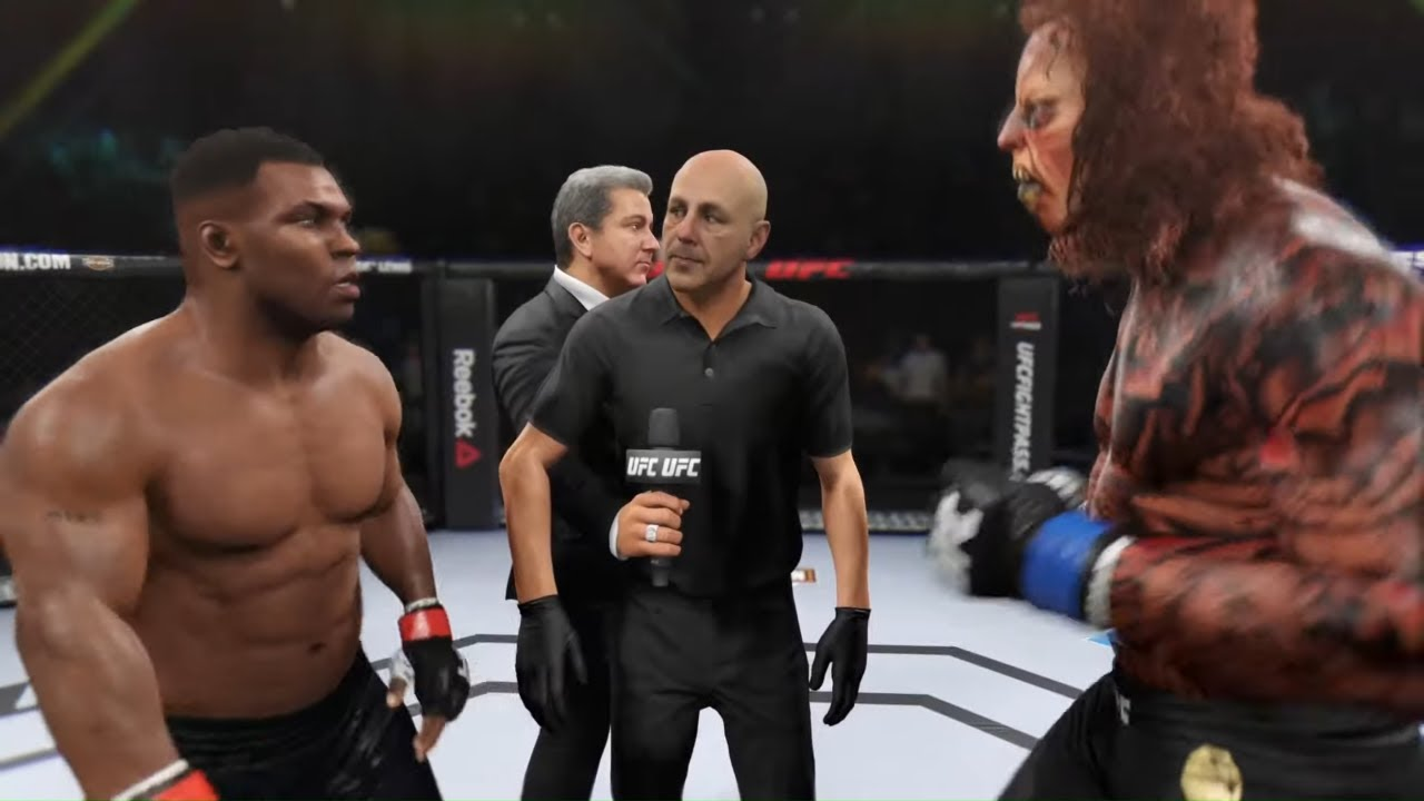 Mike Tyson vs. Deadly Monster - EA Sports UFC 2 - Boxing Stars 🥊