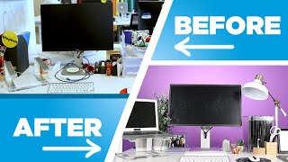 I Gave My Coworker A Surprise Desk Makeover: Nifty Challenge