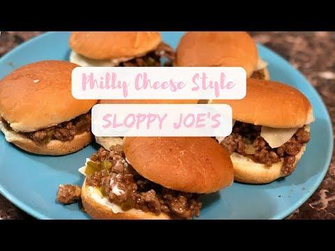 SUPER EASY PHILLY CHEESE SLOPPY JOES || Raising The Lee's Recipes