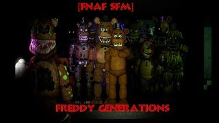 Freddy Generations | FNaF Speedart (SFM)