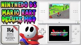 Installing Mario Kart DS Deluxe Mod! (R4 & Emulator)