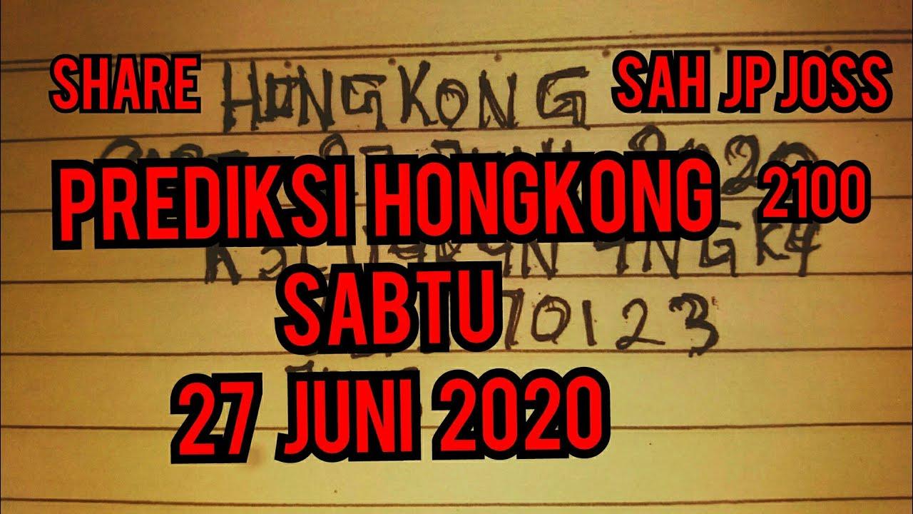 Prediksi Keluaran Hk Hari Ini Sabtu 27 Juni 2020 || Rumus ...