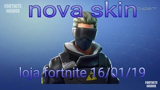 New shop Fortnite 16/01/19 (new skins) + bought new dance