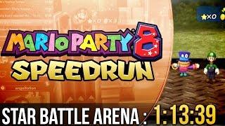 Mario Party 8 Star Battle Arena Speedrun in 1:13:39