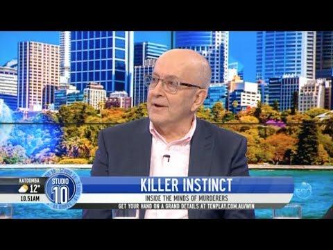 Donald Grant And His Book, Killer Instinct On Studio 10